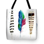 Feather Study Tote Bag