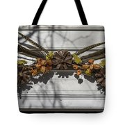Feather Swag Tote Bag