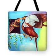 Feather Touch Tote Bag