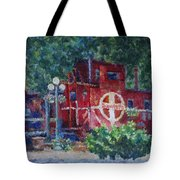 Featherbed Railroad Caboose Tote Bag