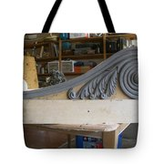 Feathered Bracket Tote Bag