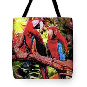 Feathered Duet Tote Bag