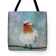 Feathered Friends First In Series Tote Bag
