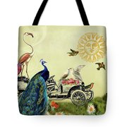 Feathered Friends In Paris, France Tote Bag by Peggy Collins
