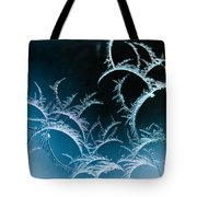 Feathered Frost Tote Bag