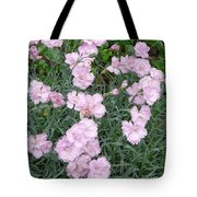Feathered Pink Tote Bag