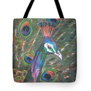 Feathered Splendor Tote Bag