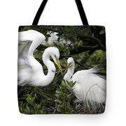 Feathering Their Nest Tote Bag