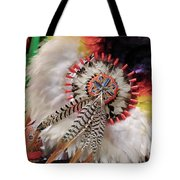 Feathers And Beads Tote Bag