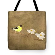 Feathers And Petals I Tote Bag
