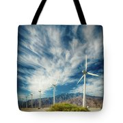 Feathers In The Sky Tote Bag