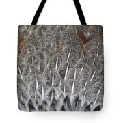 Feathers Of The Wild Hen Tote Bag