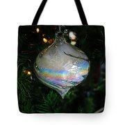 Feathers Under Glass Tote Bag