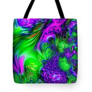 Feathery Winds Tote Bag
