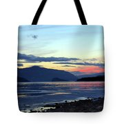 February At Dusk Tote Bag