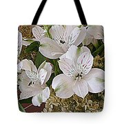 February Flowers Tote Bag