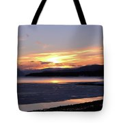 February Sunset Tote Bag