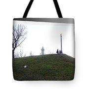Federal Hill Dog Tote Bag