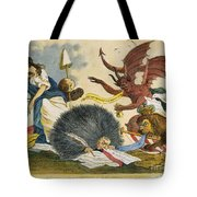 Federalist Cartoon, C1799 Tote Bag