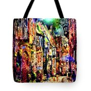 Federation Planet Yesteryear Tote Bag