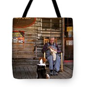 Feed The Dog Tote Bag