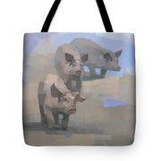 Feed Time Tote Bag