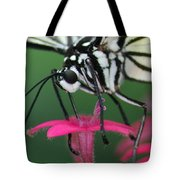 Feeding Rice Paper Tote Bag