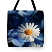 Feeling Blue Daisies Tote Bag