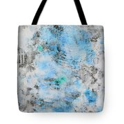 Feeling Deja Blue Tote Bag