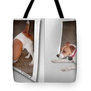Feeling Frisky - Cross Your Eyes And Focus On The Middle Image Tote Bag
