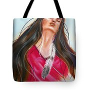 Feeling The Spirit Tote Bag