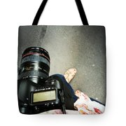 Feet Around The World #24 Tote Bag