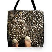 Feet Around The World #32 Tote Bag