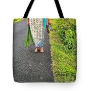 Feet Around The World #5 Tote Bag