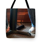Feet In A Booth Tote Bag