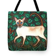 Felina And The Monarch Tote Bag