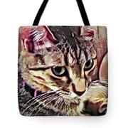 Feline Fancy Tote Bag