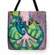 Feline Feedback Loop Tote Bag