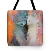 Feline Love Tote Bag