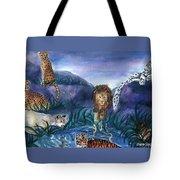 Feline Origins Tote Bag