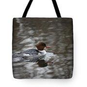 Female Common Merganser Tote Bag