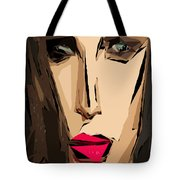 Female Expressions Xiv Tote Bag