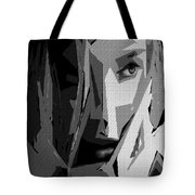 Female Expressions Xlv Tote Bag