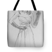 Female Model 14 Tote Bag