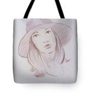 Female Model 24 Tote Bag