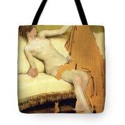 Female Nude Tote Bag