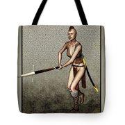 Female Pike Guard - Warrior Tote Bag