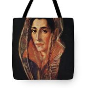 Female Portrait Tote Bag