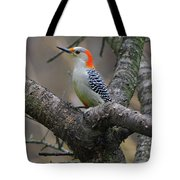 Female Red-bellied Woodpecker Tote Bag