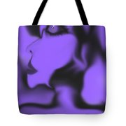 Female Space Face Tote Bag